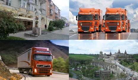 Автомобильные грузовые перевозки Сумы – Хмельницкий
