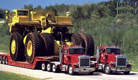 Доставка больших грузов