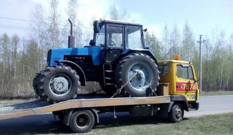 Перевозка трактора Киев — Херсон, Херсон — Киев