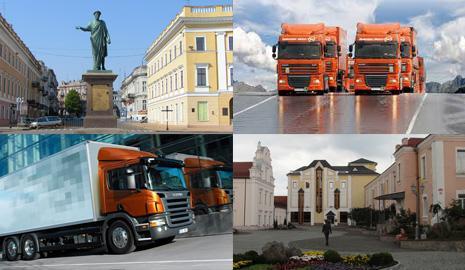 Грузоперевозка по Украине Одесса – Винница