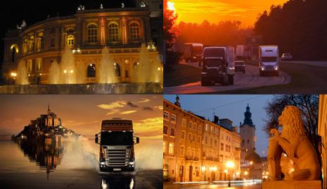 Грузоперевозки Одесса – Львов