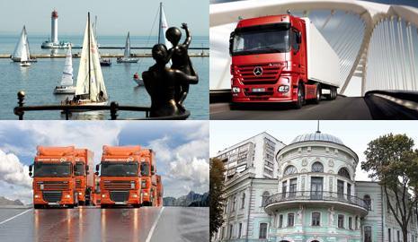 Грузовые перевозки Одесса – Сумы