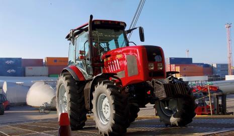 Перевозка трактора Киев — Чернигов, Чернигов — Киев