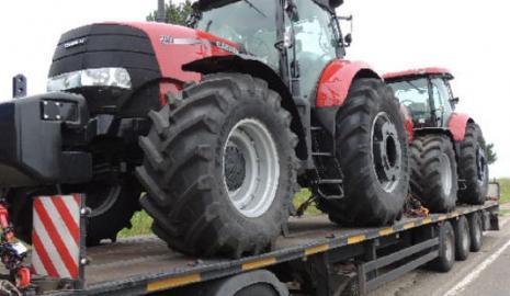 Перевозка трактора Киев — Черновцы, Черновцы — Киев