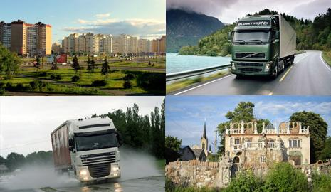 Перевозка грузов Харьков – Луцк