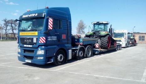 Перевозка трактора Киев — Сумы, Сумы — Киев