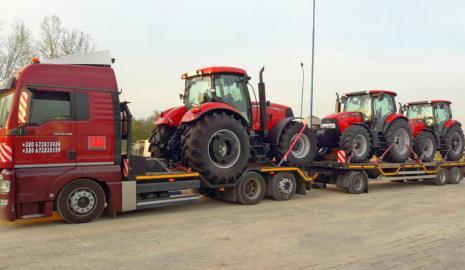 Перевозка трактора Киев — Ровно, Ровно — Киев