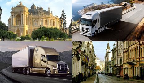 Перевозка грузов Одесса – Черновцы