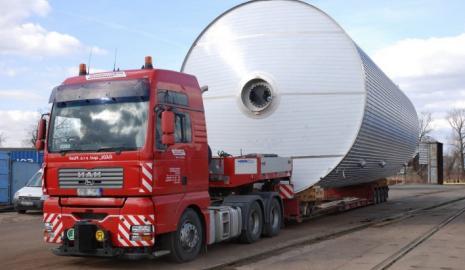 Транспортировка негабаритных грузов