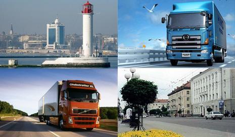 Перевозка грузов Одесса – Луцк
